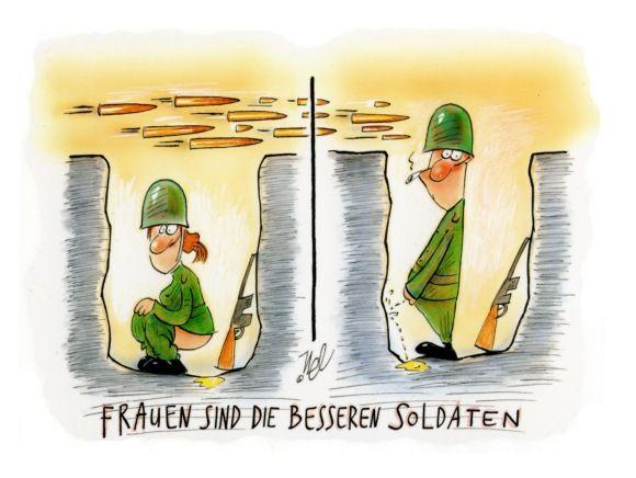 frauen sind die besseren soldaten