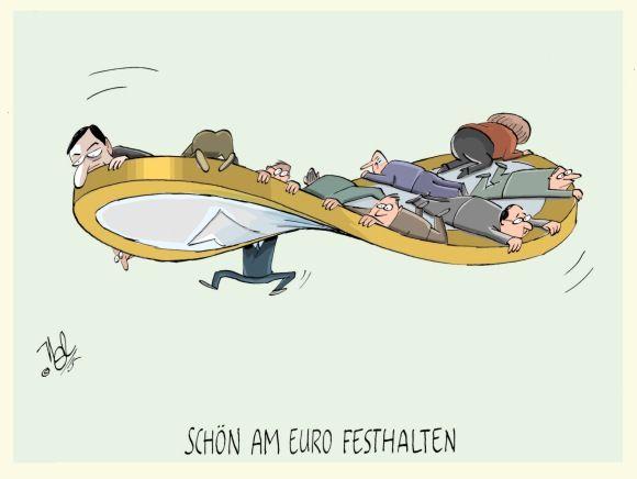 EZB am euro festhalten