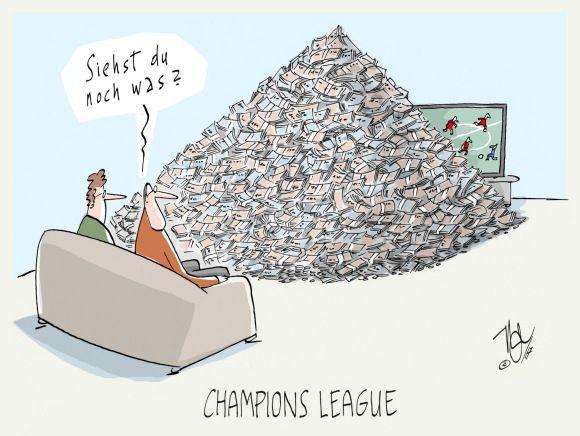 fußball geld champions league
