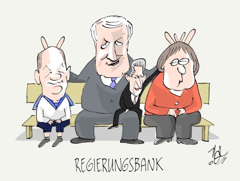 scholz seehofer maaßen regierungsbank
