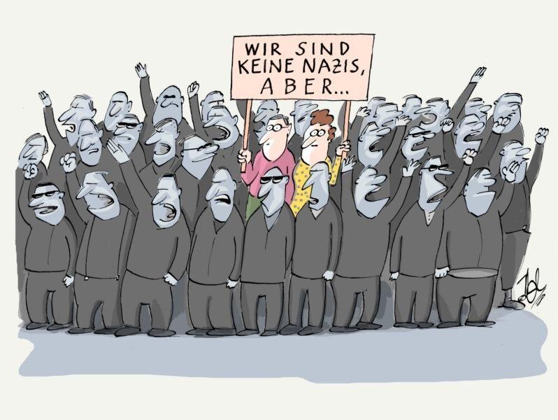wir sind keine nazis aber