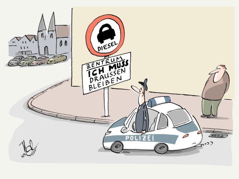 diesel fahrverbot draussen bleiben