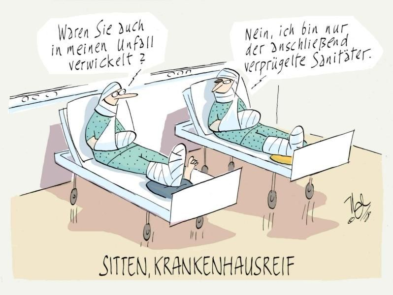 unfall verprügelter sanitäter sitten krankenhausreif