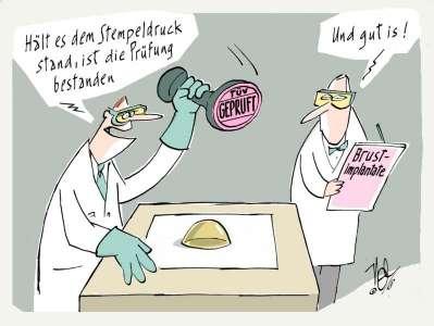 medizinprodukte implantate prüfung