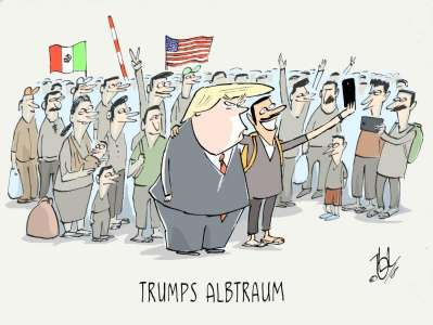 mexiko grenze trump albtraum
