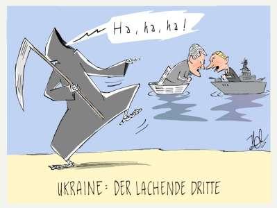ukraine poroschenko putin lachender dritter
