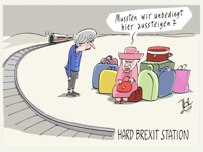 hard brexit station may königin