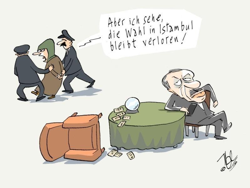 türkei erdogan wahrsagerin wahl istambul
