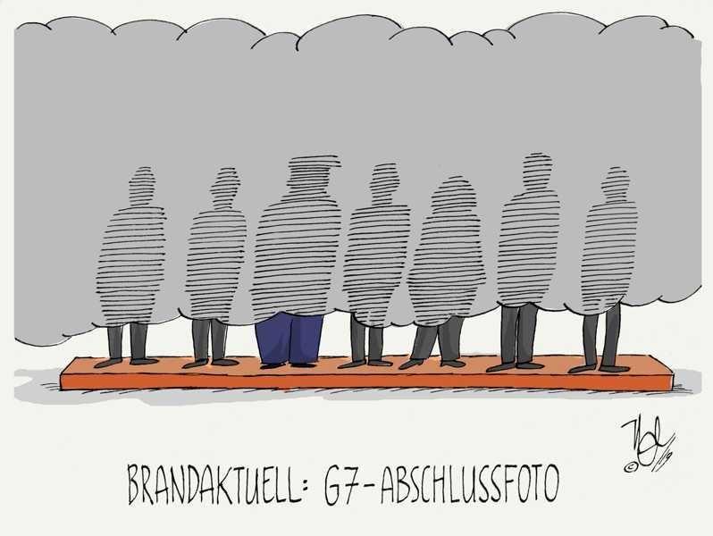 G7 amazonas brand abschlussfoto