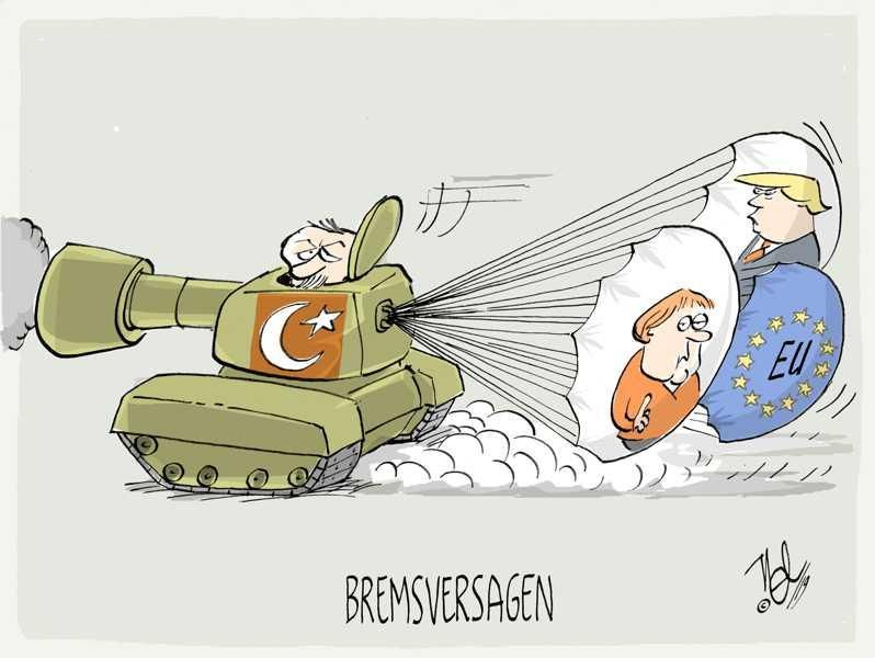 erdogan syrien bremsversagen