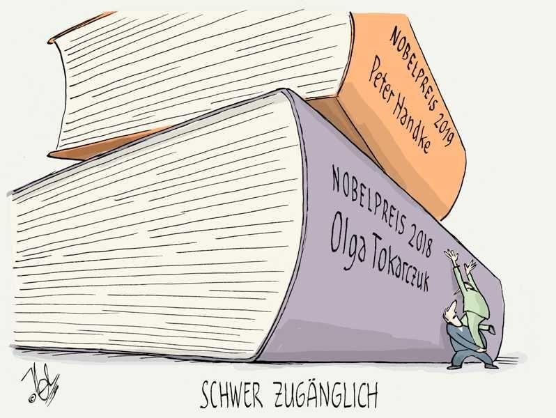 nopbelpreis fürliteratur schwer zugänglich