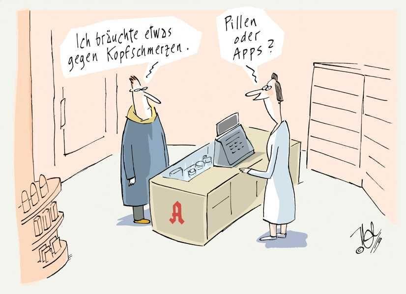 pillen oder apps