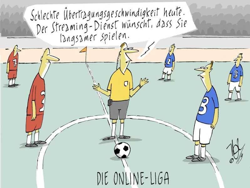 fußball sreaming übertragung geschwindigkeit online liga