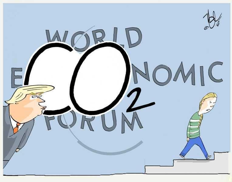 world economic forum davos co2