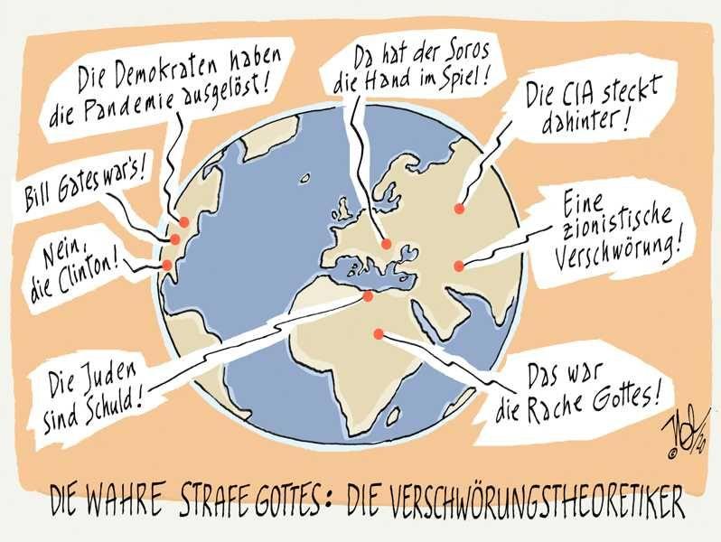 corona virus grippe pandemie wahre strafe gottes verschwörungstheoretiker