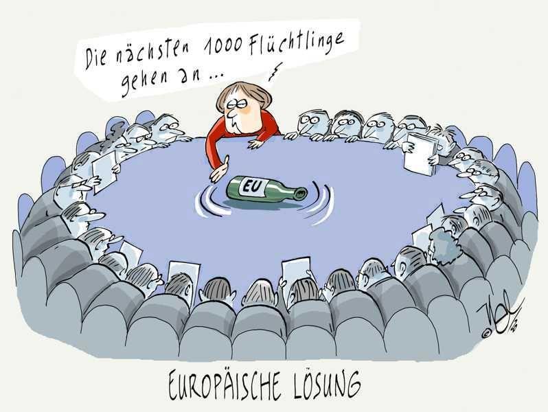 europäische lösung flüchtlinge