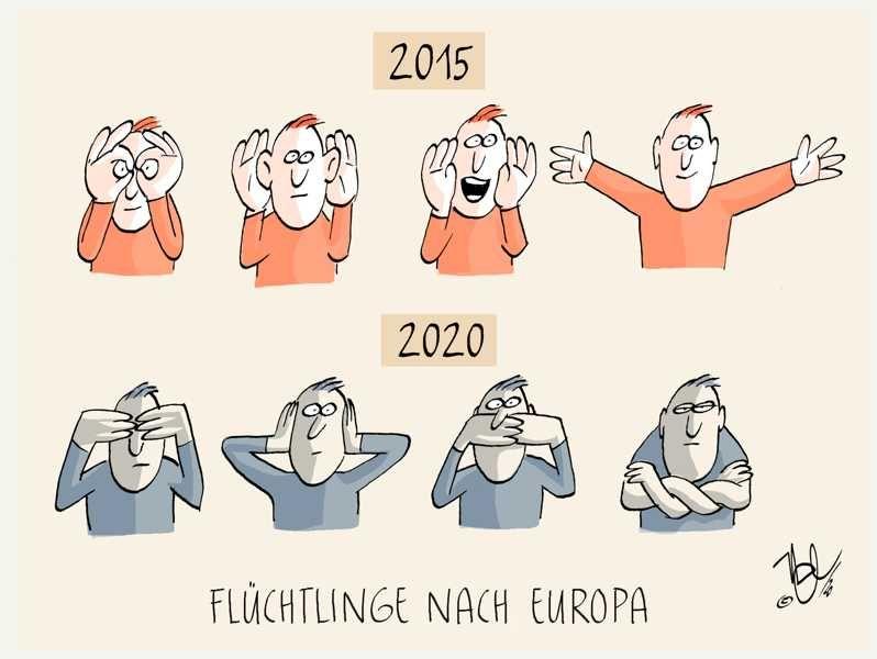 flüchtlinge nach europa