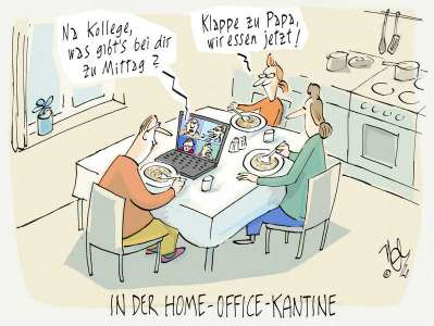 home office kantine