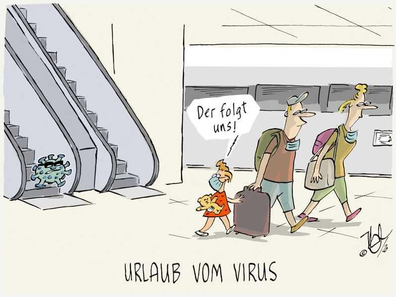 corona urlaub vom virus