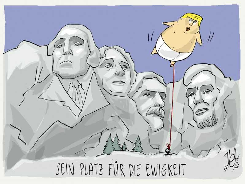 trump mount rushmore platz ewigkeit