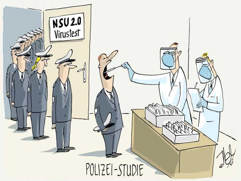 polizei rechte gesinnung nsu 2 0 studie virus test