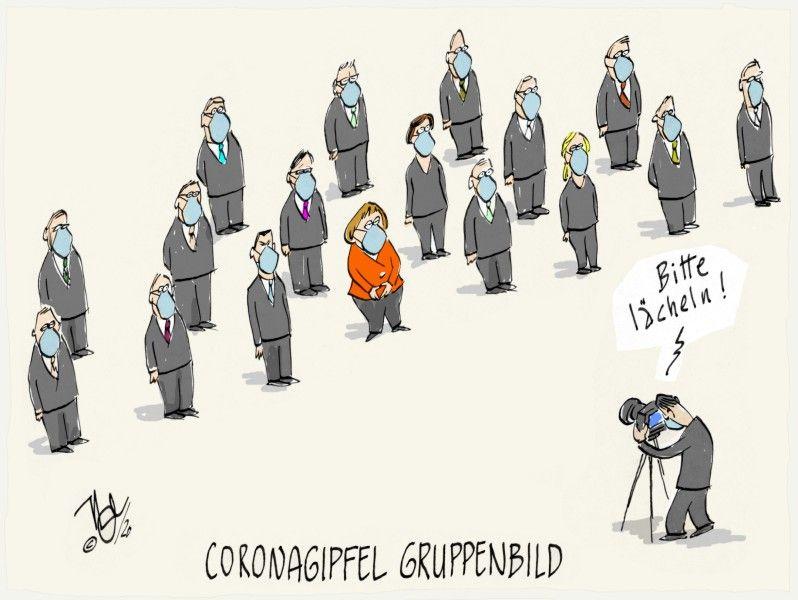 coronagipfel gruppenbild