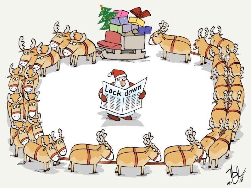 weihnachten im lockdown