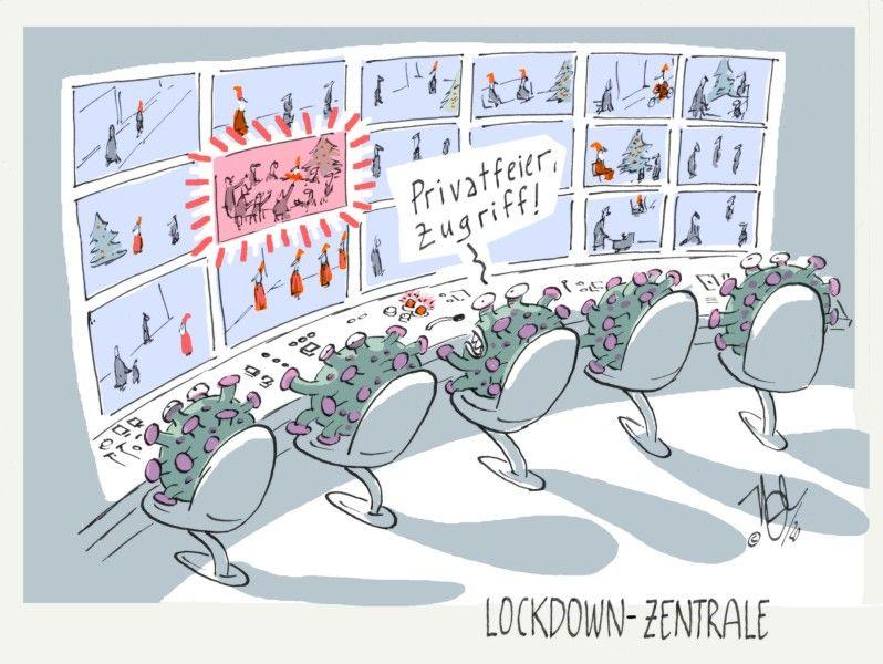 weihnachten lockdown zentrale privatfeier zugriff