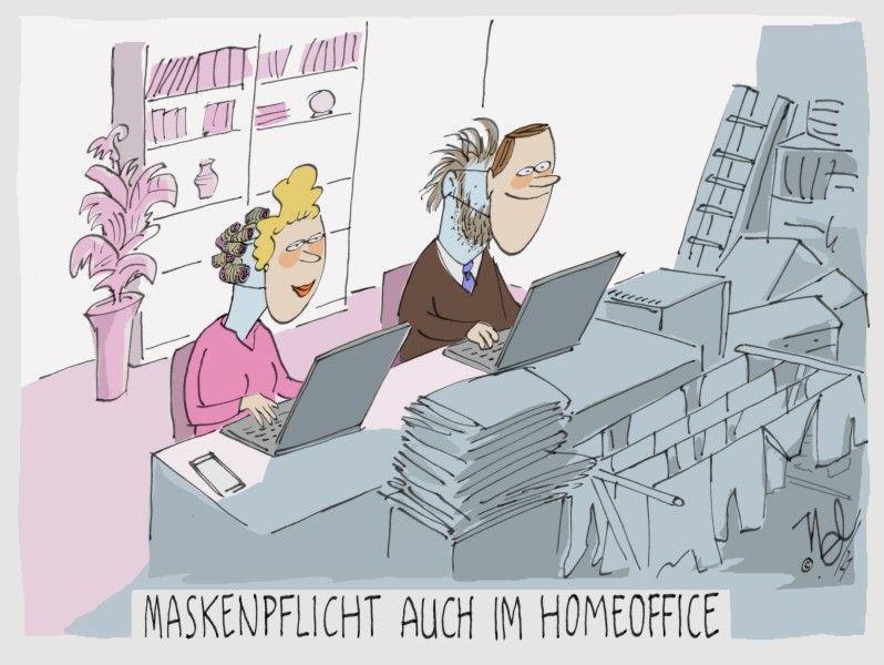 corona homeoffice maskenpflicht