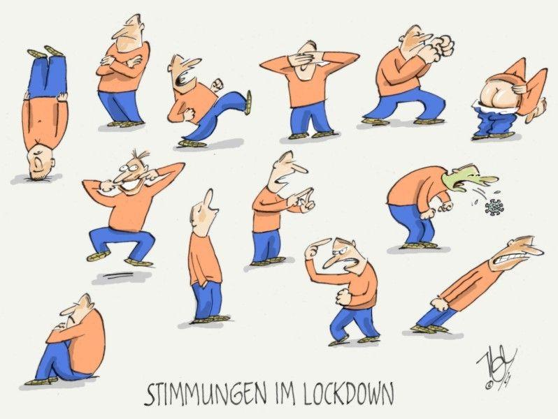 corona stimmungen im lockdown