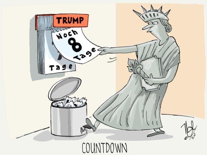noch acht tage trump countdown