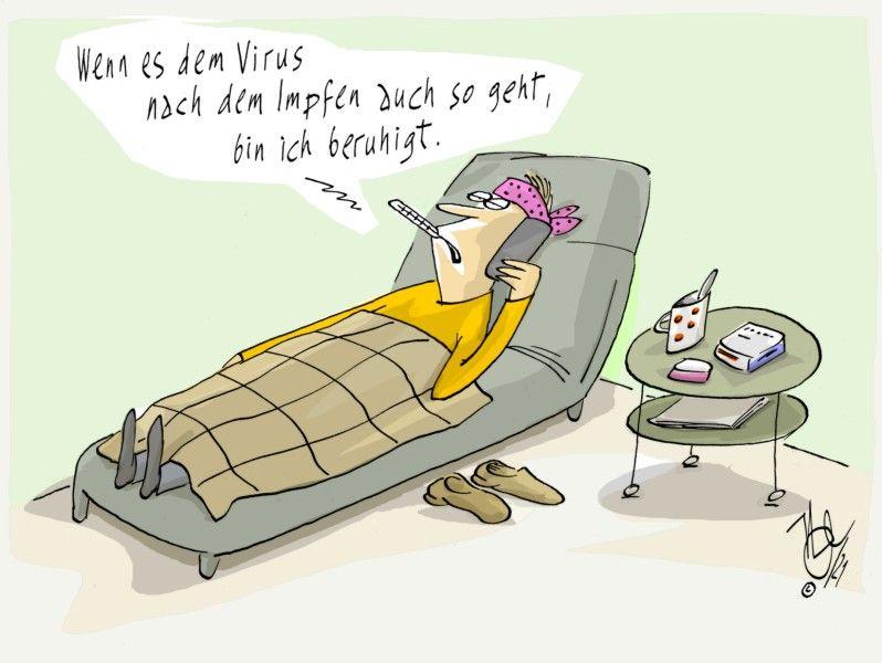 corona impfen virus nebenwirkung