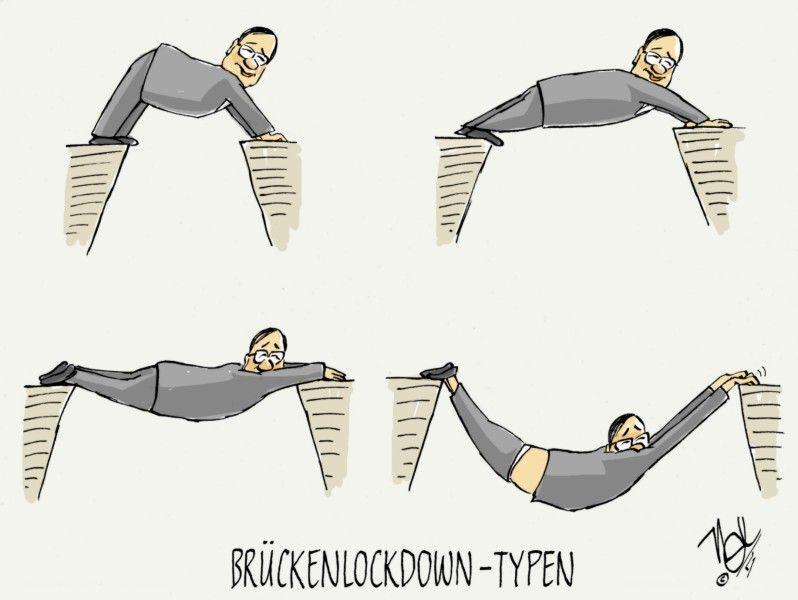 corona pandemie laschet brückenlockdown typen