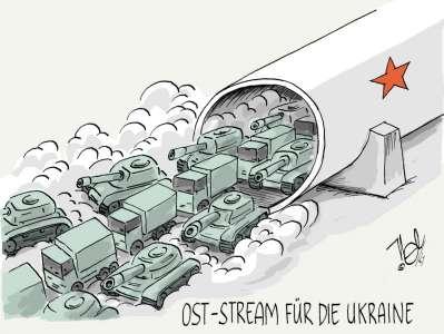 ukraine russland konflikt waffen pipeline ost stream