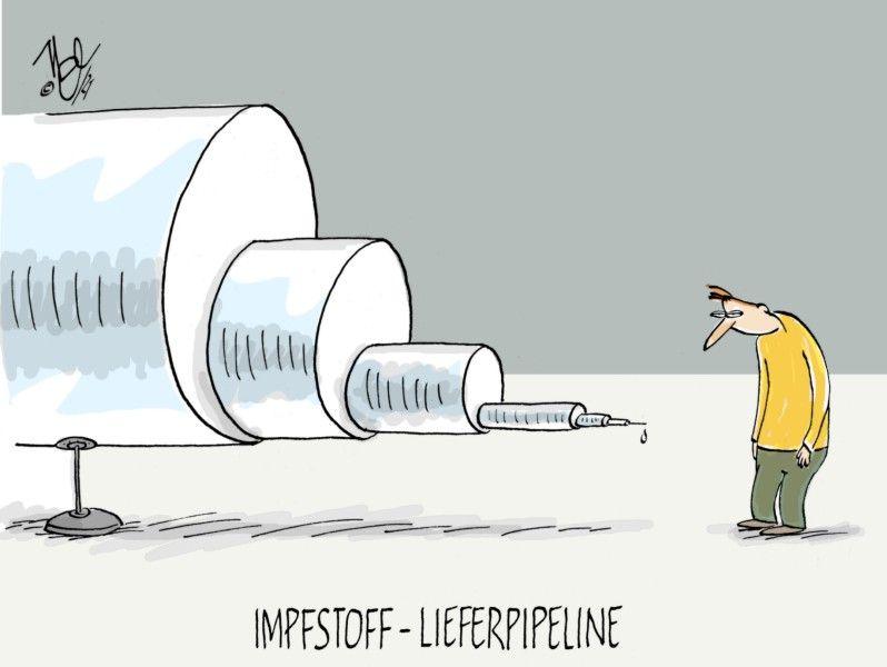 corona pandemie impfstoff lieferpipeline