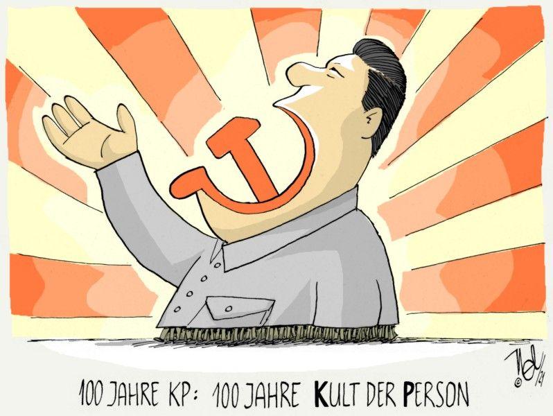 china kp 100 jahre kult der person