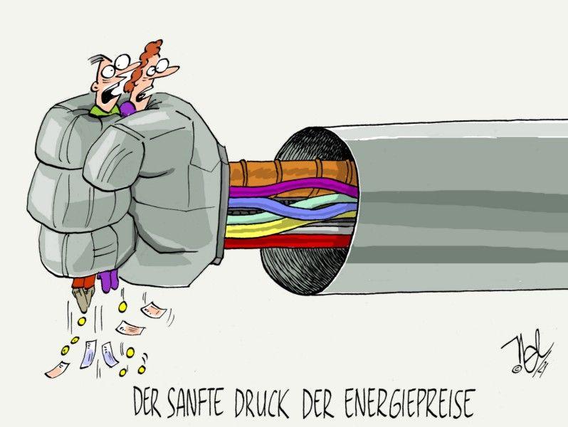 energiepreise verbraucher sanfter druck